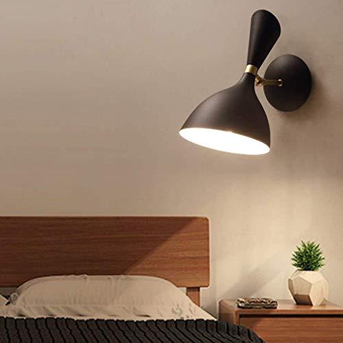 Luces de pared MGWA Arte Moderno Ligero De Pared Del Diseño Creativo Ajustable Brazo De La Lámpara Lámpara De Pared De La Sala De Estar Dormitorio Comedor Sala De Estudio Decoración Iluminación Interi