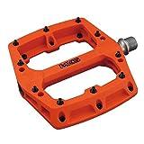 ミカシマ(MKS) ペダル ガウス [GAUSS] オレンジ 左右セット MTB用プラペダル 112132 オレンジ