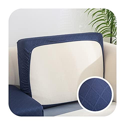 Funda de cojín de sofá gruesa jacquard para sofá esquinero Funiture protector de asiento funda elástica color sólido funda de sofá 7-XXL