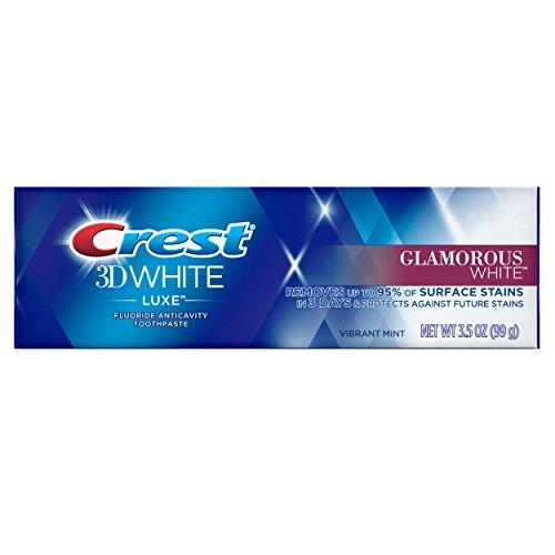 Crest 3D White Glamorous White Vibrant Mint- Whitening Zahnpasta, 3.5 oz - 99 g