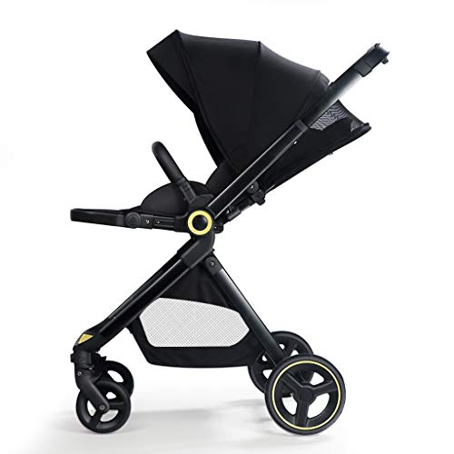 Great Features Of KHUY Convertible Stroller Compact Single Baby Carriage Toddler Seat Stroller Pram ...