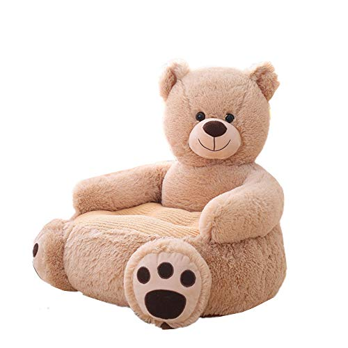 Kaliya Kids Sofa Chair Toy Seat Baby Nest Sleeping Bed Cushion Stuffed Teddy Bear Doll 50 * 50 * 45cm