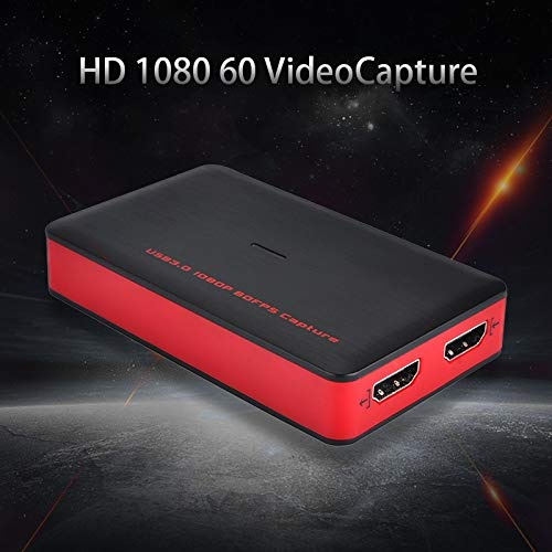 HDMI to USB 3.0 Video Capture Card 1080P 60fps HD Box Game Video Recording ABS
