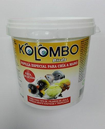 Papilla para embuchar para aves exoticas y tropicales KOLOMBO (400 gr)