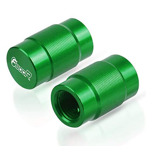 HANLING- Casquillo de válvula del neumático Puerto de Aire Cubierta Accesorios de la Motocicleta for BMW F800R 2009-2020 (Color : Green)