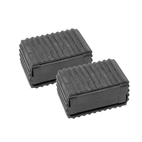 """Fenix Pedal Blocks, 1.5"""", Black"""