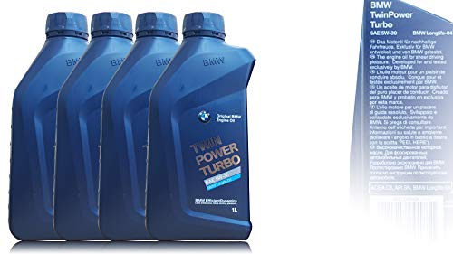 Original BMW Motoröl 4x Öl 5W-30 Twin Power Turbo LongLife-04