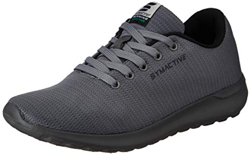 Amazon Brand - Symactive Men's Grey Running Shoes- 8 UK (SYM-YS-002A)
