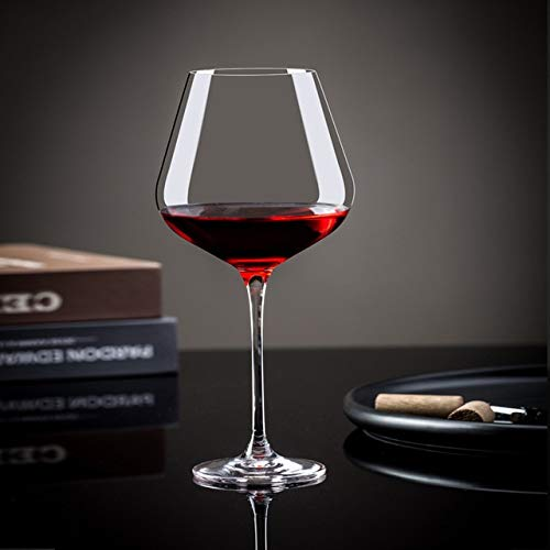 zyr Transparente Vino Vino Taza clásica American Estilo Bar Restaurante Bodega Mejor Amigos Regalos-Transparent