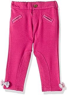 Giggles Welt Pocket Side-Ribbon Stitched Panel Pants for Girls