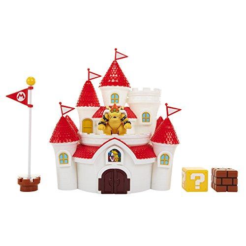 Nintendo - Jakks Mashroom Kingdom Castle Spielset 58541