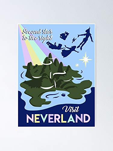 MCTEL Visit Neverland Poster