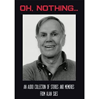 Oh, Nothing… audiobook cover art