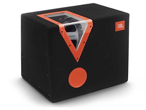 JBL Car CSX-1400BP 12 inch (300 mm) auto-stereo bandpas subwoofer met acryl venster - zwart/oranje