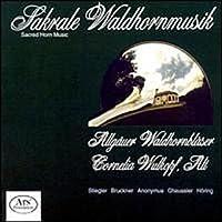 Sacred Horn Music (Sakrale Waldhornmusik) - Karl Stiegler: St. Hubertus-Messe / Bruckner: Antiphon; Windhaager Messe, Mass in C Major (1842) / Markus H?ring: Partita sacro-profana (1988)