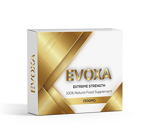 Extreme Strength EVOXA Gold Ginseng Complex - 1500MG - Premium Enahnced Performance, Energy, Stamina & Endurance, 100% Herbal, Safe & Natural - Fast Acting & Longer Lasting Results.