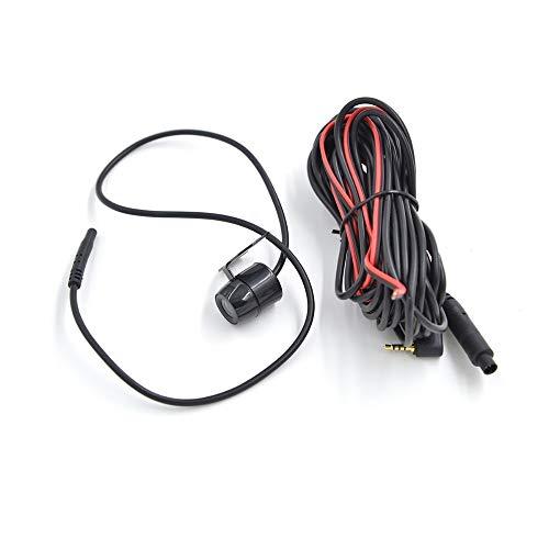 HKPKYK 2,5 mm Jack Port 4 Pin Auto Rückfahrkamera Parkkamera 170 Grad wasserdichtes CCD für DVR-Videorecorder