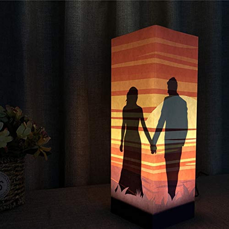 LDAKLE Nachtlichter Berühren Sensor Dekorative Lampe Schatz Schatten Liebhaber Geschenk Schlafzimmer Schlafmittel Beleuchtung Geschenk