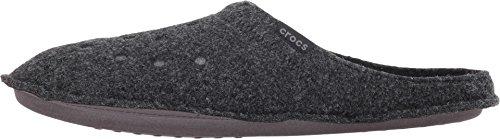 Crocs Classic Slipper, Zapatillas de Estar por casa Unisex Adulto, Negro, 41/42 EU