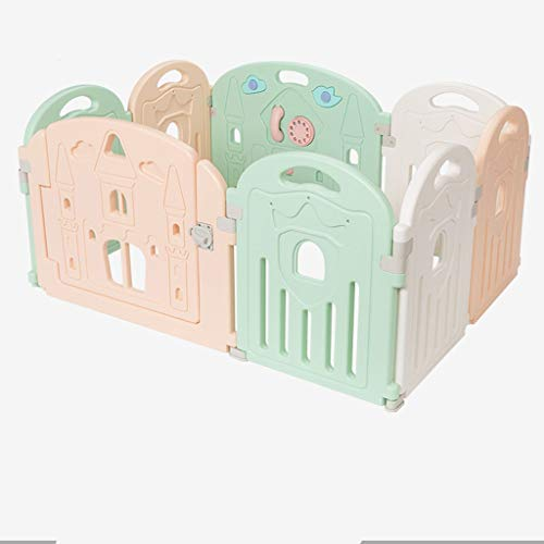 Review Of Playard Creative Large Baby Playpen Plastic Color Children's Fence Play Fence, Children's ...