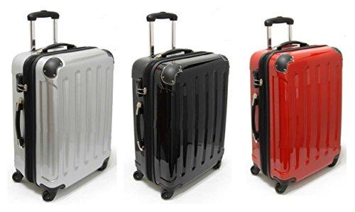 Valise trolley rigide 62 cm-couleur : rouge