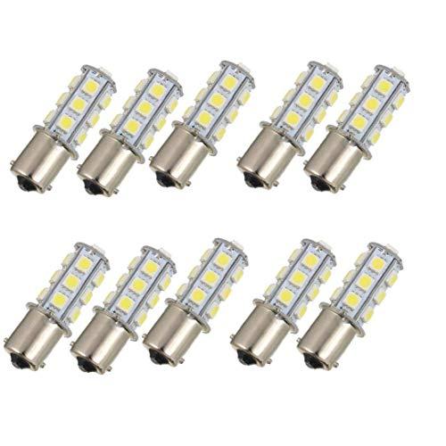 ZIYUMI Car Turn Signal Light 10 Pcs Replacement Brake Light Bulbs Auto Tail Blinker Backup Reverse Lights 1156 18smd