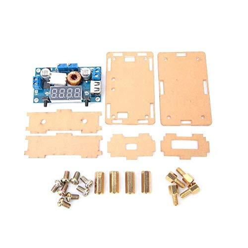 Chenbz DC Buck Converter, 12V 24V 7-36V a 1.25-32V Junta Reductor voltios DC a DC reducen el convertidor, el módulo de alimentación, Junta Reductor voltios con Pantalla LED Azul