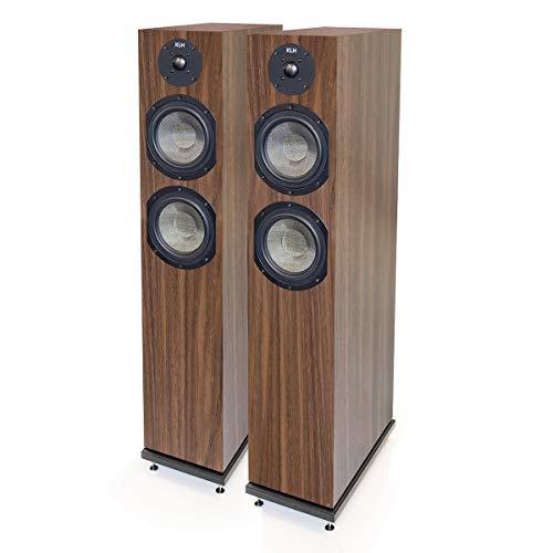 KLH Concord 2-Way Floor Standing Speakers - Pair (European Walnut)