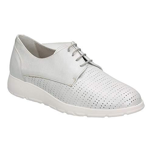 Zapatos fluchos f0422 señora Blanco