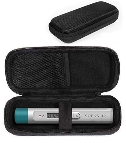 CaseSack Tragetasche für Kernstrahlungsdetektor wie SOEKS 112, MIRA Safety Geiger Zähler, Netztasche für Backup-Batterien und Kabel
