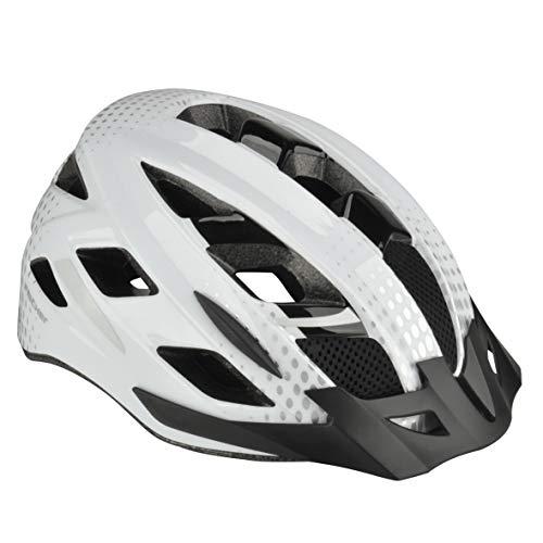 fischer Casco de Ciclismo Urban Lano, Unisex, Color weiß, tamaño Large/Extra-Large