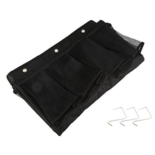 24bolsillos para colgar bolsas de almacenamiento organizador detrás de la puerta tela no tejida zapatos artículos diversos arreglo bolsillos ahorrar espacio HOGAR