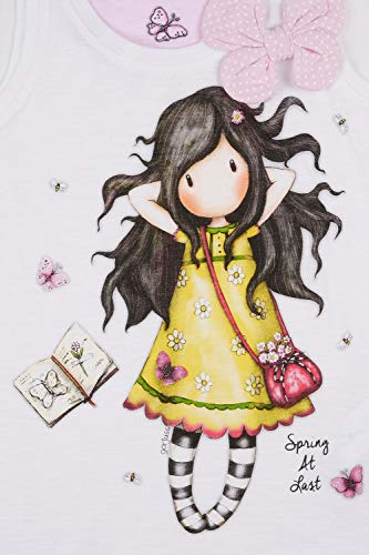 SANTORO LONDON - Pijama Santoro Gorjuss niña Mariposas Niñas Color: Blanco Talla: 14