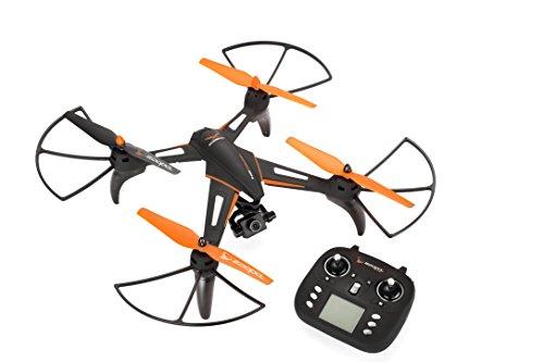 zoopa Phoenix HD Drone con HD Fotocamera e gimbel per la stabilizzazione dell' Immagine–Nero/Arancione–Ricarica e losfliegen