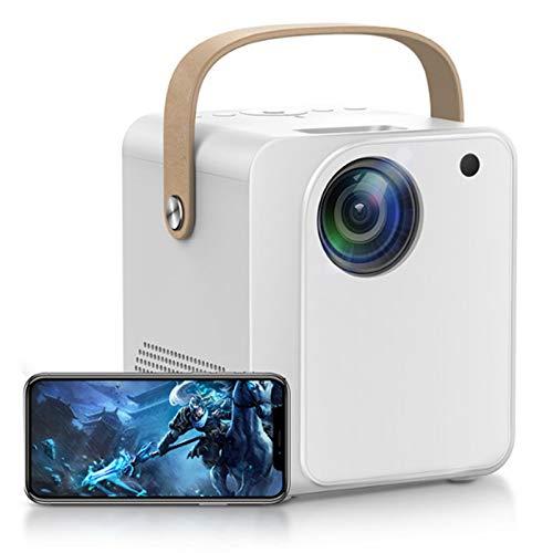0℃ Outdoor Proyector, Proyector Portátil, 100-ANSI, Nativo 1080p Full HD, Más Brillante es Mejor, Portátil y Ligero, Mecanismo óptico Completamente Sellado, Viene con Puertos HDMI/USB/AV