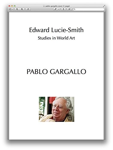 PABLO GARGALLO (Studies In World Art Book 129) (English Edition)