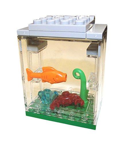 LEGO Aquarium, tolle Eigenzusammenstellung aus neuen und seltenen Teilen