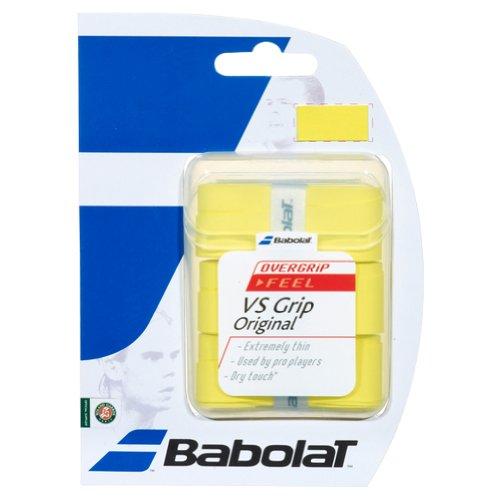 Babolat Vs Original X3, Accessorio Racchetta Unisex – Adulto, Giallo, Taglia Unica