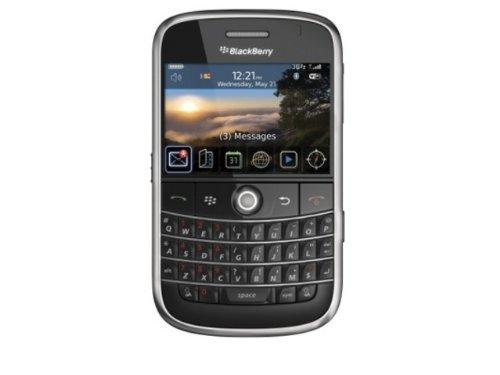 BlackBerry Bold 9000 Smartphone (WLAN, GPS, QWERTZ-Tastatur, Kamera mit 2 MP, MP3-Player) schwarz