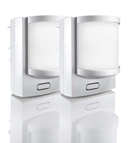 Somfy 2400441 - Funk-Bewegungsmelder im Doppelpack, für Protexiom und Protexial Alarmanlage, weiß