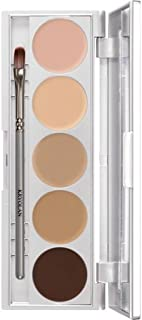 Kryolan HD Micro Foundation Cache Palette 5 Colors 19015 Contouring