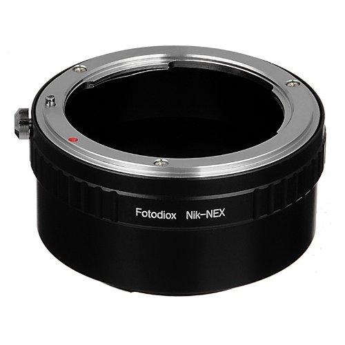 Fotodiox Nikon-NEX-None-G - Adaptador de Montura de Objetivo para Sony Alpha NEX