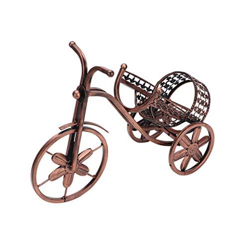 Fikujap Weinregal, kreative Tricycle Eisen Weinregal, Nostalgie, Kunstgestaltung, Wohnküchentisch