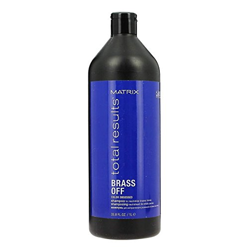 Matrix Total Results Brass Off Shampoo 1000ml - shampooing