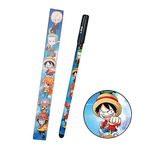 Saicowordist Mein Held Academia Anime Herum Kreative Niedlichen Q-Version Gel Stift 0.3mm Schwarze Tinte Student Unterschrift Stift Bromaterial Heies Geschenk fr Fans(H07)