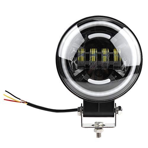 KIMISS Projecteurs Phares, 10-30V DC 6.3inch 35W Spotlight Fog Light Véhicules hors route Lampe de Styling led Lampe de Conduite,Lampe de Travail, IP67 étanche