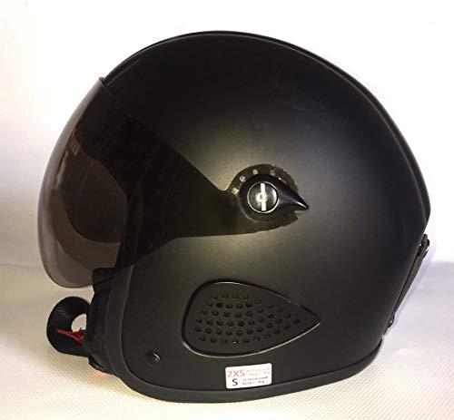 Bores Gensler Kult Jet Helmet With Visor Casque de jet avec la visière Noir mat