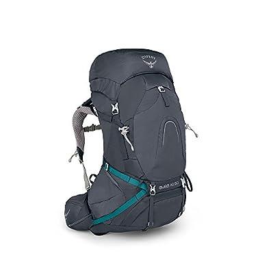 Osprey Packs Pack Aura Ag 50 Backpack, Vestal Grey, X-Small