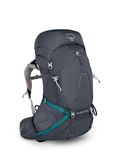 Osprey Packs Pack Aura Ag 50 Backpack, Vestal Grey, Small