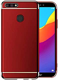 Huawei Honor 7c Red Hard PC case Cover